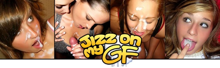 enter Jizz On My GF members area